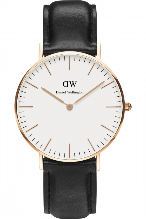 Ladies Daniel Wellington Sheffield Rose 36mm Watch 0508DW
